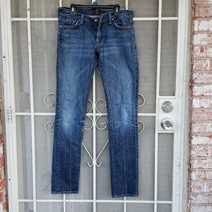 7 for all man kind jeans size 27 waist